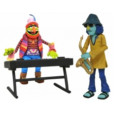 Muppets: Best of Series 3 - Doctor Teeth and Zoot Deluxe Action Figure Set | Diamond Select Toys