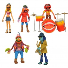 Muppets: Deluxe Band Members Action Figure Box Set SDCC 2020   Diamond Select Toys