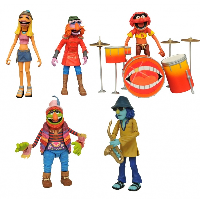 Muppets: Deluxe Band Members Action Figure Box Set SDCC 2020 Diamond Select Toys Product