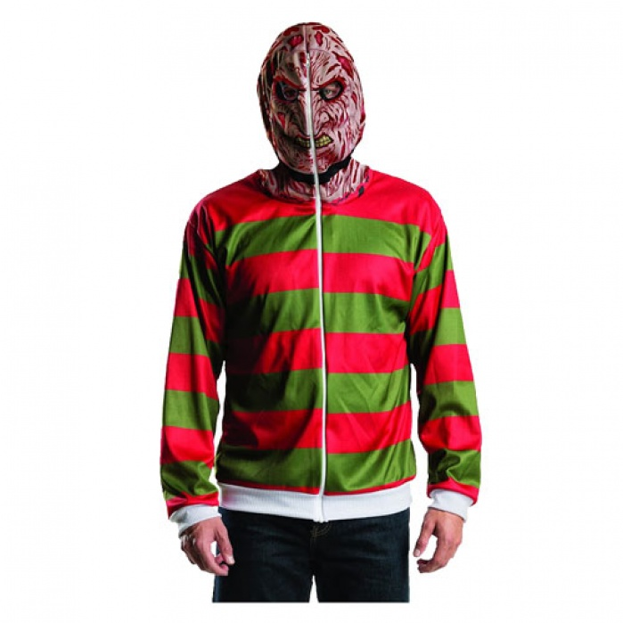 Nightmare on Elm Street Hooded Sweater Freddy Krueger Rubie's Product