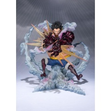 One Piece FiguartsZERO PVC Statue Monkey D. Luffy Gear 4 Leo Bazooka | Tamashii Nations
