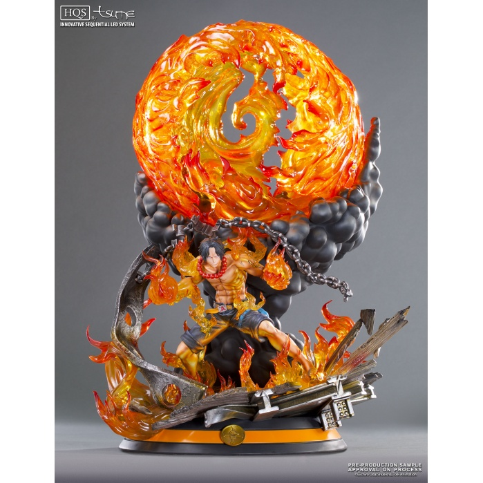 One piece Portgas D. Ace HQS Tsume-Art Product