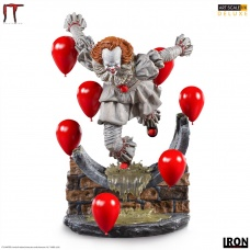 Pennywise Deluxe Art Scale 1/10 – IT Chapter Two | Iron Studios
