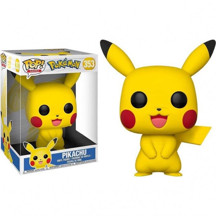 Pop! Games: Pokemon - 10 inch Pikachu Funko Product