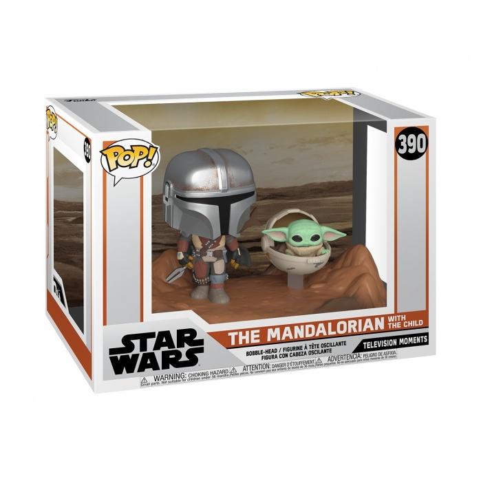 Pop! Moment: Star Wars The Mandalorian - Mandalorian and the Child Funko Product