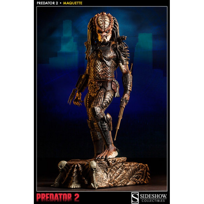 Predator 2 Maquette 1/4 Predator 72 cm Sideshow Collectibles Product