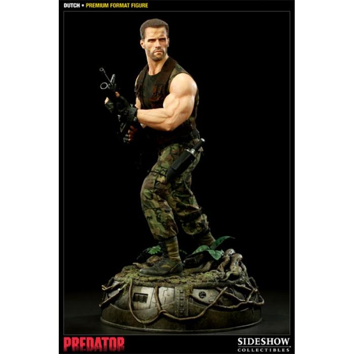 Predator: Dutch Schaefer 1/4 Premium Format Figure Sideshow Collectibles Product