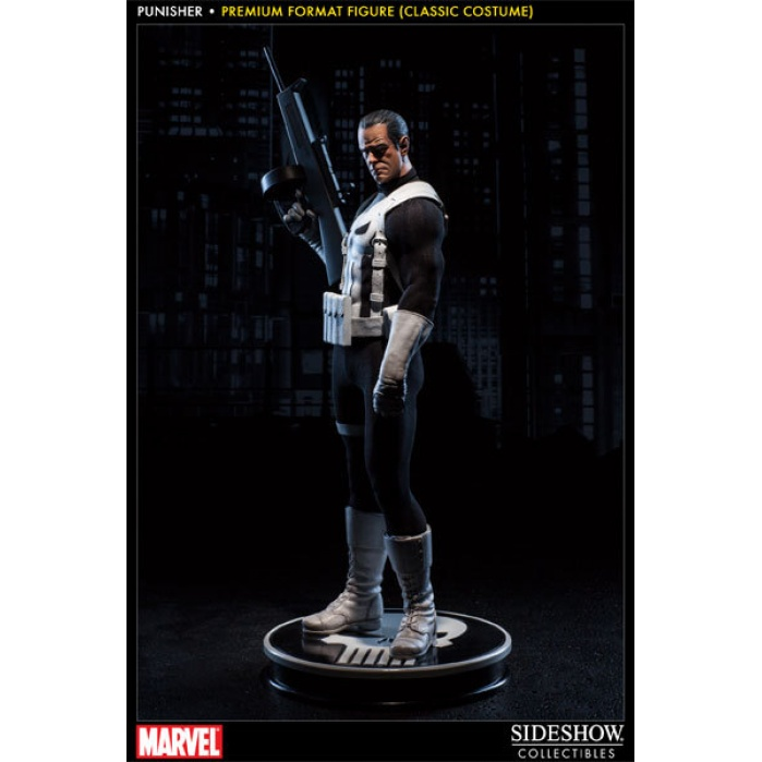 Punisher 1/4 Premium Format Figure (Classic Costume) Sideshow Collectibles Product