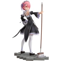 Re:Zero Starting Life in Another World: Ram 1:7 Scale PVC Statue Goodsmile Company Product