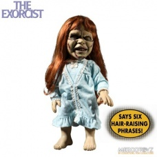Regan The Mega Scale Exorcist with Sound   Mezco Toyz