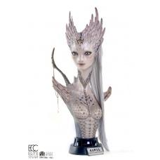 Reptilian Hybrid Alien Karis 1:1 Scale Bust by Miyo Nakamura | Elite Creature Collectibles