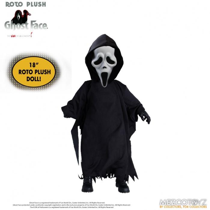 Scream: Ghostface 18 inch Roto Plush Mezco Toyz Product