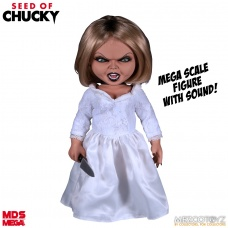 Seed of Chucky: Mega Scale Talking Tiffany 15 inch Action Figure | Mezco Toyz