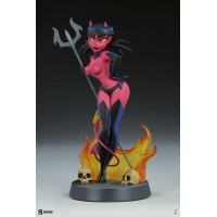 Shane Glines: Devil Girl Statue Sideshow Collectibles Product