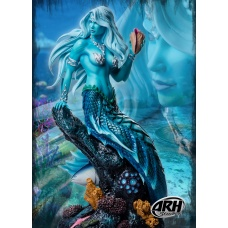 Sharleze the Good Mermaid: Blue Skin Version 1:4 Scale Statue - ARH Studios (EU)