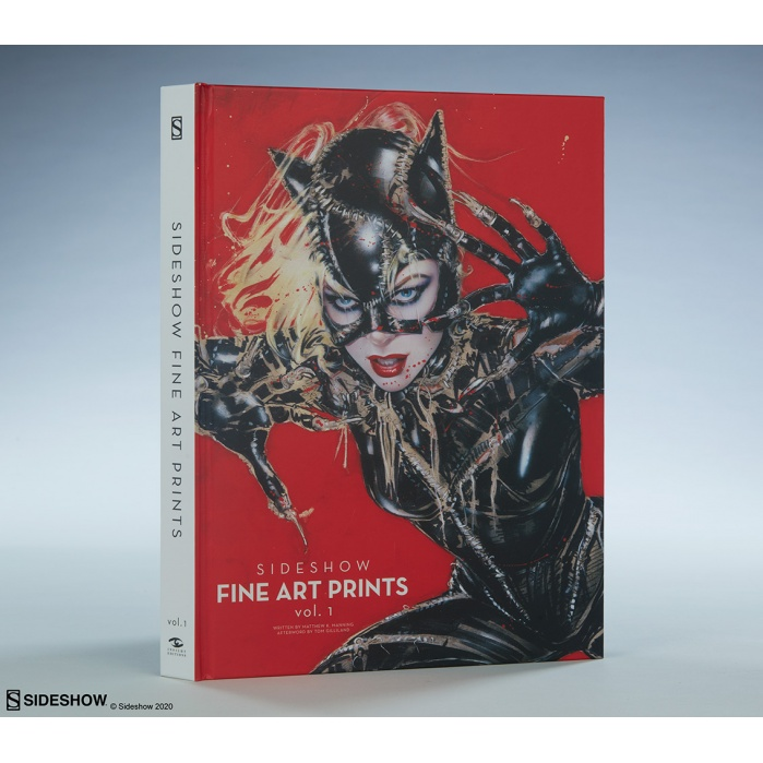 Sideshow: Fine Art Prints Vol. 1 Hardcover Book Sideshow Collectibles Product