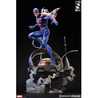 Spider-Man 2099 Statue Exclusive Version Sideshow Collectibles Product