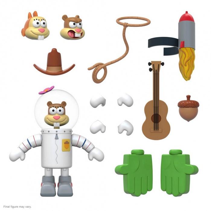 SpongeBob Squarepants: Ultimates Wave 1 - Sandy Cheeks 7 inch Action Figure Super7 Product