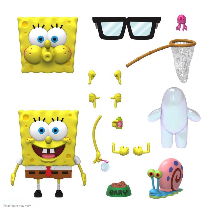SpongeBob Squarepants: Ultimates Wave 1 - SpongeBob Squarepants 7 inch Action Figure Super7 Product