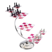 Star Trek: The Original Series - Tridimensional Chess Set Noble Collection Product