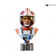 Star Wars: A New Hope - Legends in 3D Luke Skywalker Pilot 1:2 Scale Bust | Diamond Select Toys
