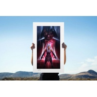 Star Wars: Ahsoka Tano - Between Worlds Unframed Art Print Sideshow Collectibles Product