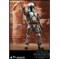 Star Wars: Attack of the Clones - Jango Fett 1:6 Scale Figure Hot Toys Product