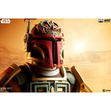 Star Wars: Boba Fett Bust | Sideshow Collectibles