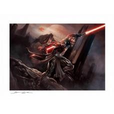 Star Wars: Darth Maul Savage Rage Mythos Unframed Art Print - Sideshow Collectibles (NL)