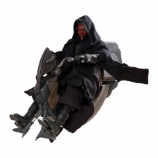 Star Wars Episode I DX  Darth Maul & Sith Speeder Hot Toys Product Image