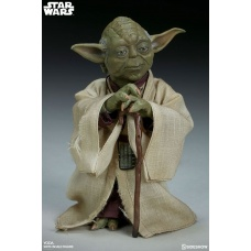 Star Wars Episode V Action Figure 1/6 Yoda Sideshow Collectibles Product Image