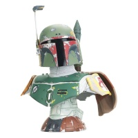 Star Wars Episode V Legends in 3D Bust 1/2 Boba Fett Gentle Giant Studios Product