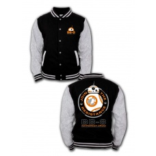 Star Wars Episode VII Baseball Varsity Jacket BB-8 Astromech Droid - Phd Merchandise (NL)