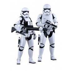 Star Wars First Order Stormtrooper set 1/6 Hot Toys Product Image