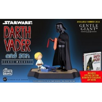 Star Wars Maquette & Book Darth Vader and Son 25 cm Gentle Giant Studios Product