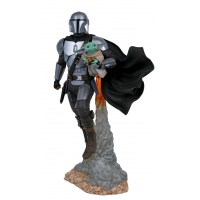 Star Wars Milestones: The Mandalorian and Child 1:6 Scale Statue Diamond Select Toys Product