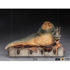 Star Wars: Return of the Jedi - Deluxe Jabba the Hutt 1:10 Scale Statue   Iron Studios