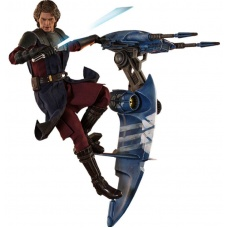 Star Wars The Clone Wars Action Figure 1/6 Anakin Skywalker & STAP | Hot Toys