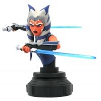 Star Wars: The Clone Wars - Ahsoka Tano 1:7 Scale Bust Diamond Select Toys Product