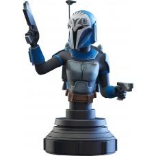 Star Wars: The Clone Wars - Bo-Katan 1:7 Scale Bust | Diamond Select Toys