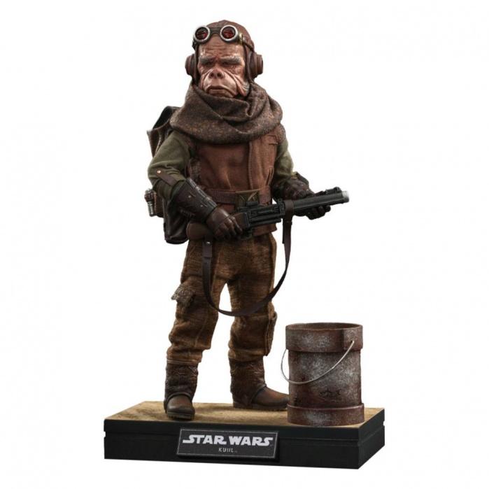 Star Wars The Mandalorian Action Figure 1/6 Kuiil Hot Toys Product