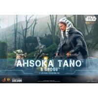 Star Wars: The Mandalorian - Ahsoka Tano and Grogu 1:6 Scale Figure Set Hot Toys Product