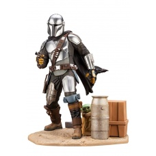 Star Wars The Mandalorian ARTFX Statue 1/7 Mandalorian & The Child | Kotobukiya