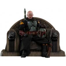 Star Wars: The Mandalorian - Boba Fett Repaint Armor and Throne 1:6 Scale Figure Set - Hot Toys (EU)