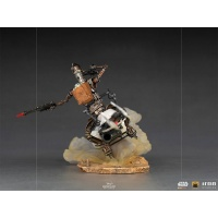 Star Wars: The Mandalorian - Deluxe IG-11 and The Child 1:10 Scale Statue Iron Studios Product