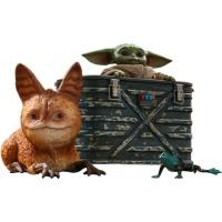 Star Wars: The Mandalorian - Grogu 1:6 Scale Figure Set Hot Toys Product