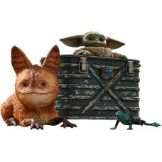 Star Wars: The Mandalorian - Grogu 1:6 Scale Figure Set - Hot Toys (EU)