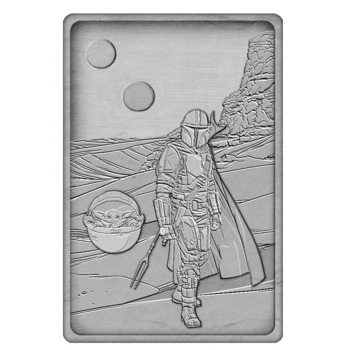Star Wars: The Mandalorian Iconic Scene Collection Limited Edition Ingot The Mandalorian Fanatik Product