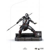 Star Wars: The Mandalorian - The Mandalorian 1:10 Scale Statue Iron Studios Product
