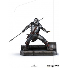 Star Wars: The Mandalorian - The Mandalorian 1:10 Scale Statue | Iron Studios